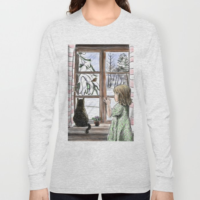 Window dreaming. Long Sleeve T-shirt