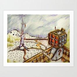 """Cubical"" Art Print"