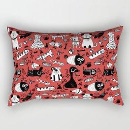 Pets Mascotas Rectangular Pillow