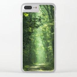 Woodland Glory II Clear iPhone Case