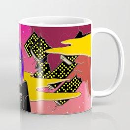 Red Planet Dip Coffee Mug