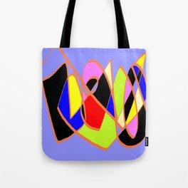 Multicolor blue ign Tote Bag