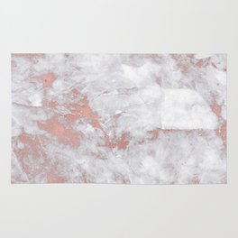 Marble Rose Gold - Lost Rug