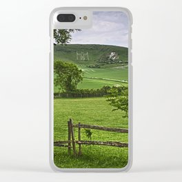 The Long Man Of Wilmington Clear iPhone Case