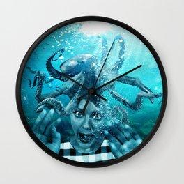 Underwater Nightmare Wall Clock