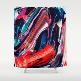 Ache Shower Curtain