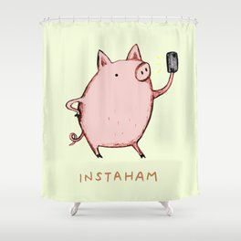 Instaham Shower Curtain