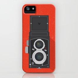 Classic TLR camera iPhone Case