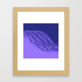 Rocking purple Framed Art Print