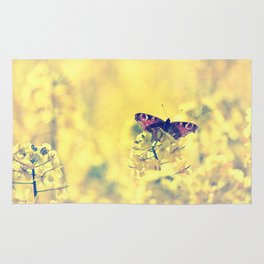 Sunshine and Butterflies Rug