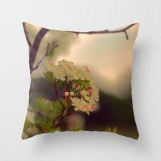 Pink May Throw Pillow