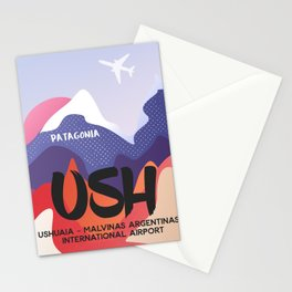 USH Argentina airport Patagonian Stationery Cards