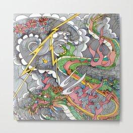 Dragon fire 2.0 Metal Print