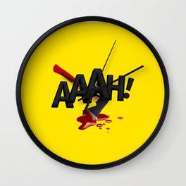 ONMTP - BIG AAAH! Wall Clock