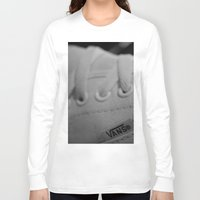 vans Long Sleeve T-shirts featuring Vans by Studio11