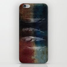 Rusty Feathers iPhone & iPod Skin