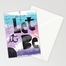 Let It Be.no.2 Stationery Cards