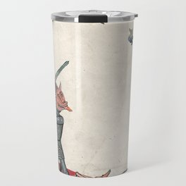 Ancient battle (collage) Travel Mug