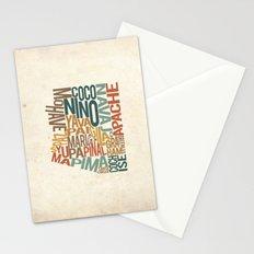 Arizona by County Stationery Cards