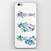 iwatobi iPhone & iPod Skins featuring Missed the Boat by Alyssa Tye