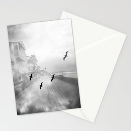 """""""Birds of a Feather"""" Holga Double Exposure in San Diego, California Stationery Cards"""
