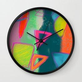 Abstract Digital Painting Wall Clock