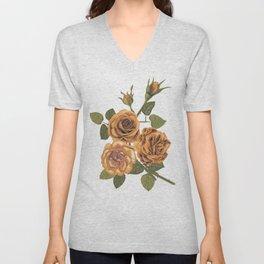 Vintage roses Unisex V-Neck