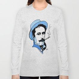 Giacomo Puccini Italian Composer Long Sleeve T-shirt