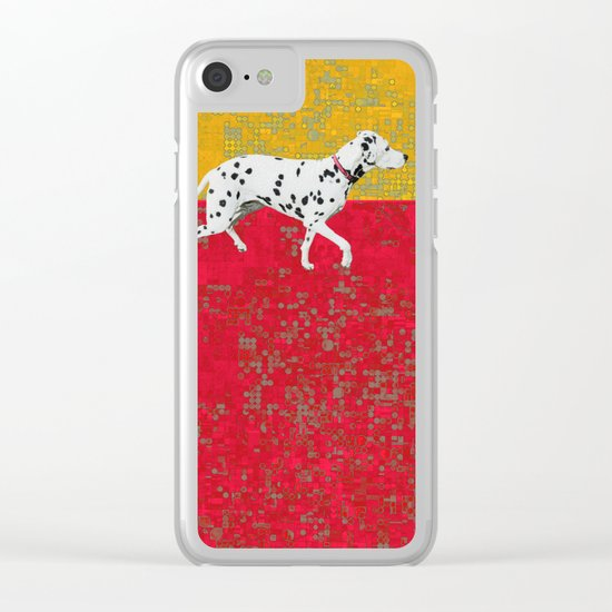 These streets Clear iPhone Case