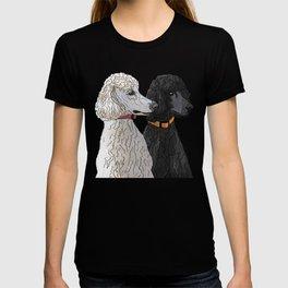 Pair of Poodles T-shirt