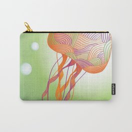 Secondary Colors Jellyfish Carry-All Pouch