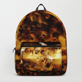 Golden Honeybees Backpack
