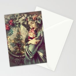 CHRISTMAS GIFT 002 Stationery Cards