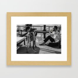 """Ruff"" Week Framed Art Print"