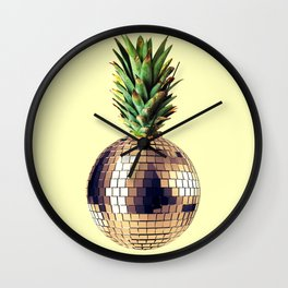 ananas party (pineapple) Wall Clock