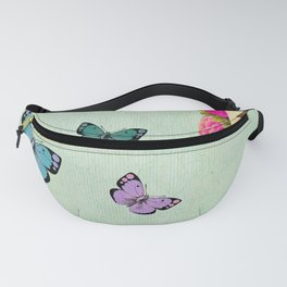 shabby chic collage Fanny Pack