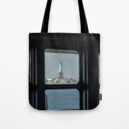 Statue of Liberty from the ferry Tote Bag