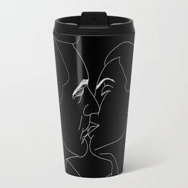 Vintage Kiss Travel Mug