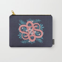 Pink Snakes Carry-All Pouch
