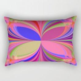 Colorful Kaleidoscope Rectangular Pillow