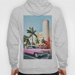 Pink Cadillac , Miami Beach Florida Hoody