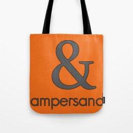 Ampersand Tote Bag