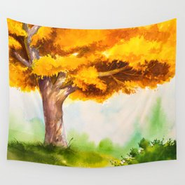 Autumn scenery #15 Wall Tapestry