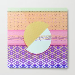 Japanese Patterns 05v Metal Print