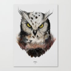 The owls are not what they seem Canvas Print