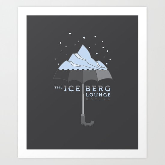 The Iceberg Lounge Art Print
