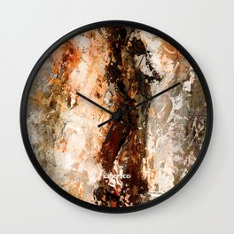 Abstract D10 Wall Clock