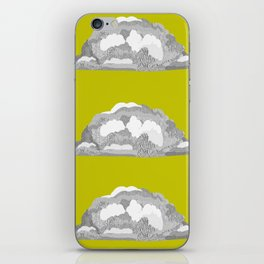 Cloud on Goldenrod iPhone Skin