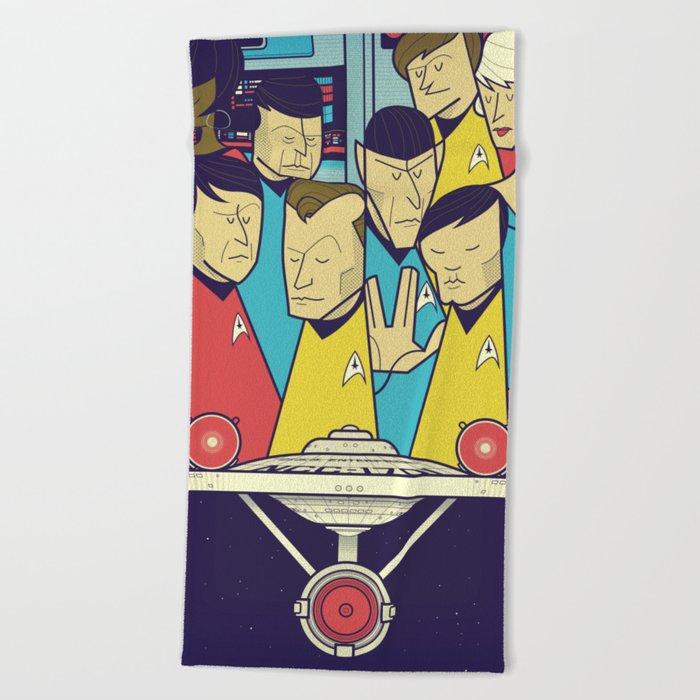 Star Trek Beach Towel