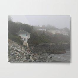 Ocean House Metal Print